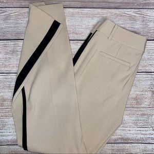 Ann Taylor Tuxedo Stripe Pants